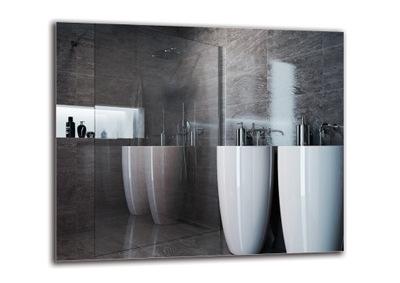 Zrkadlo pre kúpeľňa 120x100 - BRÚSENIE - LEŠTENIE M1ST-01