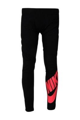 Legginsy Nike Girls NSW LEG LOGO 851984 011 116|XS