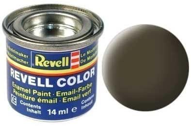 Farba modelarska Revell 32140 CZARNO ZIELONY MAT