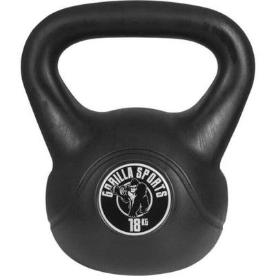 Športový vinyl Kettlebell 18 kg Gorilla Sports