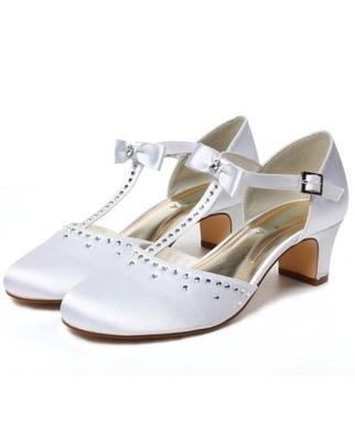 Buty komunijne obuwie komunijne z cyrkoniami 32