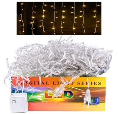 SOPLE 200 LED LAMPKI grube 2mm ZEWNĘTRZNE B.CIEPŁY