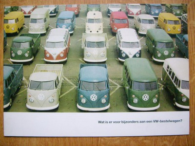 VW VOLKSWAGEN T1 1965 TRANSPORTER / BUS / PICK-UP