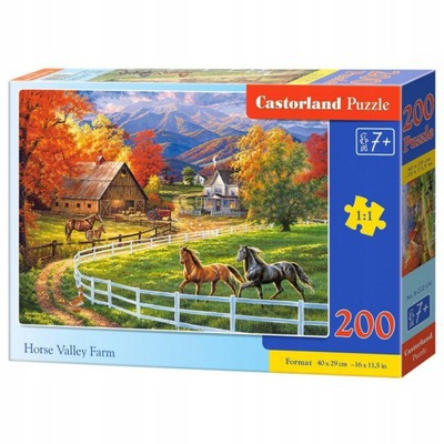 Puzzle 200 B-222124 Horse Valley Farm