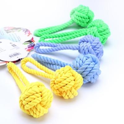 6 ×Nobleza - Играть в Веревка с мячом, игрушки для собак