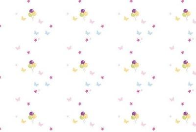 Dyha 368cm 248cm 8 ks Balóny v nástenných pasteloch