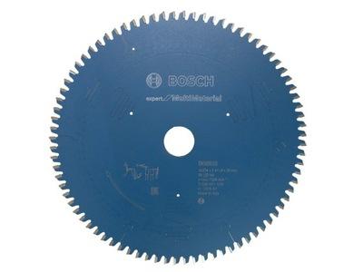 Disk BOSCH 254x30 80 Multimaterial hliník
