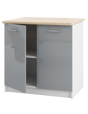 Шкаф кухонная нижняя 80 лак и столешница ??? комплектов