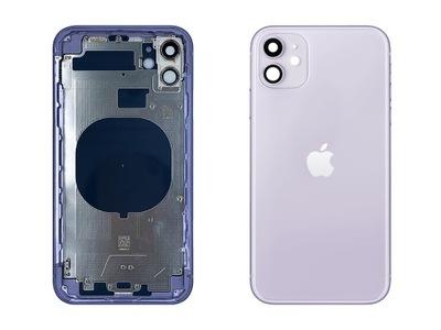iPhone 11 Korpus Ramka Obudowa Tył Violet