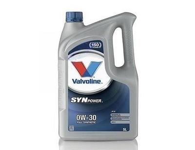 VALVOLINE SYNPOWER FE 0W-30 A5 5L