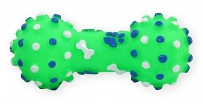 Hantel кость игрушка собака пищит, чистит зубы 10 ,5 см