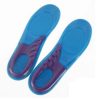 ŻELOWE wkładki do butów SILIKONOWE 42-46 (BT005)