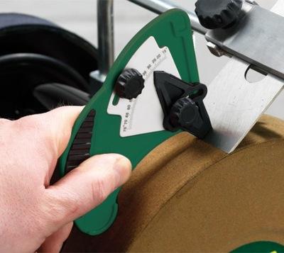 Kalibrator przymiar kątowy kątomierz do ostrzałki