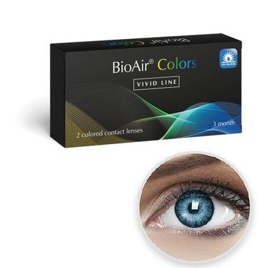 Soczewki Kolorowe BioAir Colors 2 szt. Korekcyjne