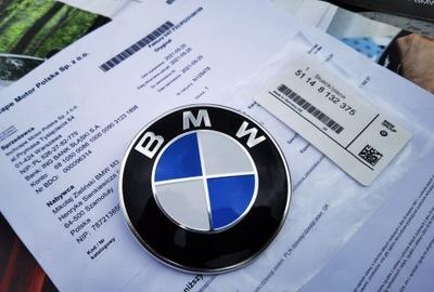 ЗНАЧОК 51148132375 BMW E92 SWIATOWA МАРКА DEMMEL