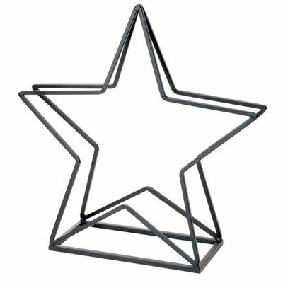 Kôš z dreva v tvare hviezdy