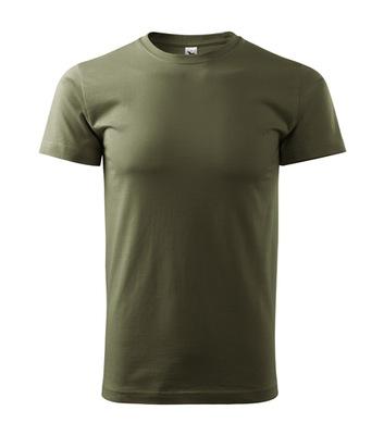 koszulka męska LUX S zielona wojskowa krótki rękaw