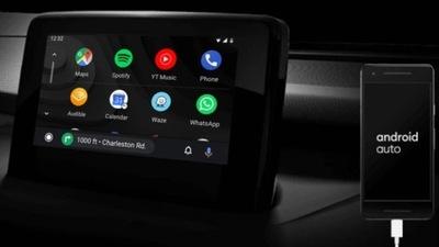 Android Auto MAZDA 6 MZD-Connect Google Maps