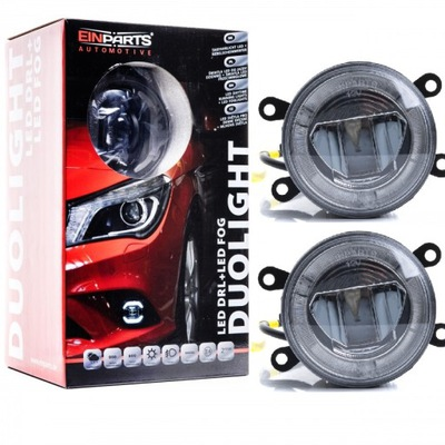 галоген duolight fog led+свет, ходовые огни