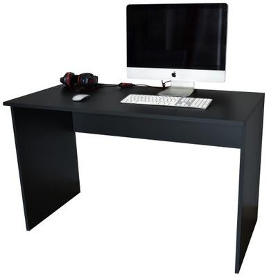 Biurko Komputerowe Standard Czarne