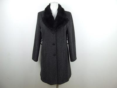 o3 NEW LOOK płaszcz 40% WEŁNA 42 XL