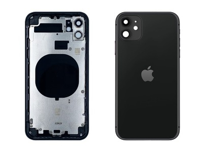 iPhone 11 Korpus Ramka Obudowa Tył Black