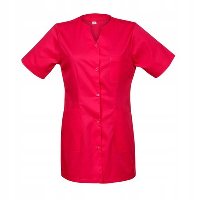 Żakiet medyczny damski, bluza, amarant r.44 kolory