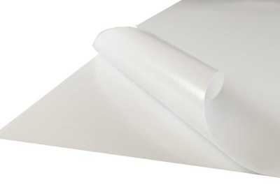 Papier samoprzylepny biały 50 ark. A4 Matowy