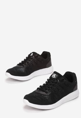 Czarne Buty Sportowe 37