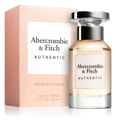ABERCROMBIE & FITCH AUTHENTIC EDP 50ML