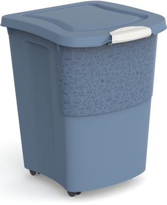 Pojemnik na karmę na kółkach Rotho ARCHIE 38L 18kg