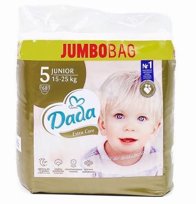 DADA EXTRA CARE 5 JUNIOR Jumbo Bag 68 szt