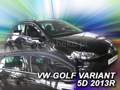 HEKO ОБТЕКАТЕЛИ VW GOLF VII УНИВЕРСАЛ 2013-2020 4 ШТУКИ.