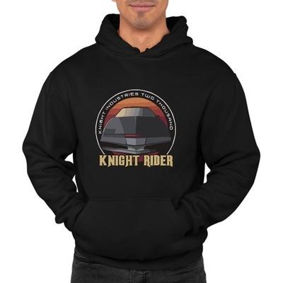 bluza z kapturem KM-CZ knight rider kit L