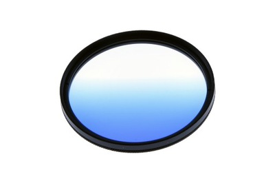Filtr połówkowy 67mm Niebieski