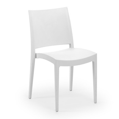 Krzesło SPECTO klasyczne BIAŁE/ SOLIDNE