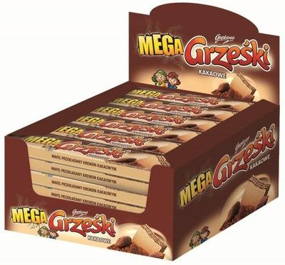 GOPLANA Wafle Grześki Mega kakaowe 32 szt.