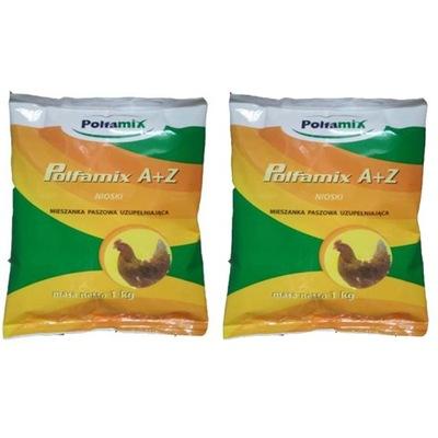 POLFAMIX A+Z PASZA NIOSKI MIESZANKA WITAMINY 2kg
