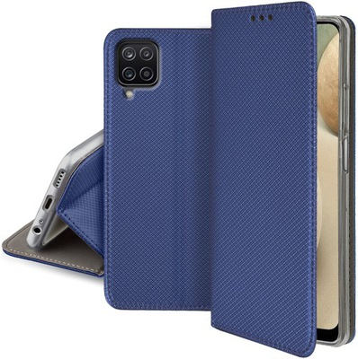 Etui Smart Magnet + Szkło 9H do Samsung Galaxy M12