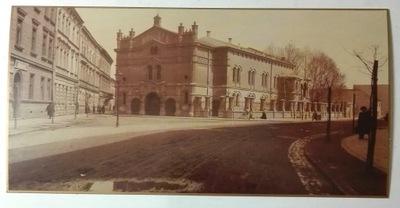 открытка Новая Синагога улей Miodowa  1906 SPK