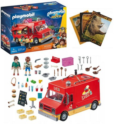 PLAYMOBIL 70075 THE MOVIE FOOD TRUCK DELA