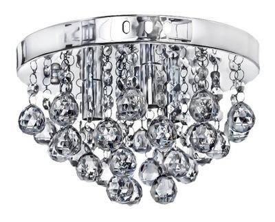 Moderné stropné svietidlo chrómovaný La crystal