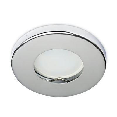 Oprawa halogenowa oczko sufitowe IP44 CHROM do LED