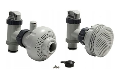 INTEX 26005 2x Zawór Dysza Przyłącze do Pompy 38mm