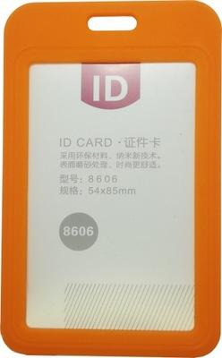 Etui Holder na kartę Smycz 54 x 85 RFID 70 x 110