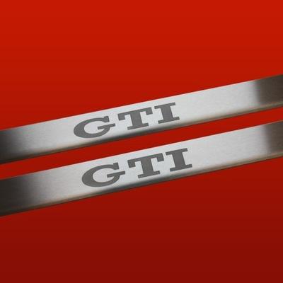 НАКЛАДКИ НА ПОРОГИ МАТОВАЯ VW GOLF II MK2 (GTI)