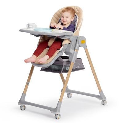 Krzesełko do karmienia 3w1 Kinderkraft składane