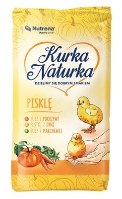 лисички NATURKA, корм цыпленок 10 кг крошиться