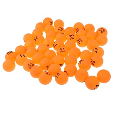 piłka do ping-ponga Pomarańczowy