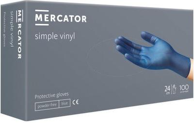 RĘKAWICE WINYLOWE MERCATOR SIMPLE VINYL ROZMIAR XL